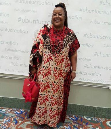 Monique Mujawamariya a reçu en 1993 et 1994 le prix du meilleur défenseur des droits humains de Human Rights Watch et a été reçue à la Maison-Blanche. Photo © Monique M.