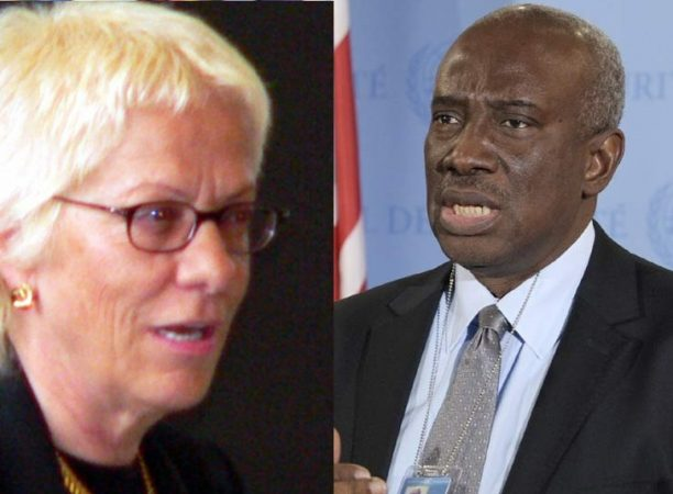 Prosecutors for ICTR, Carla Del Ponte (199-2003), and Hassan Bubacar Jallow (from 2003)