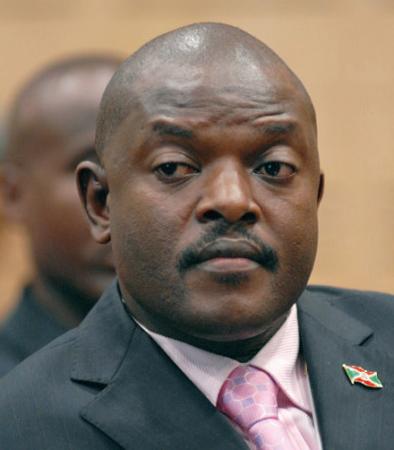 Pierre Nkurunziza au pouvoir depuis 2005