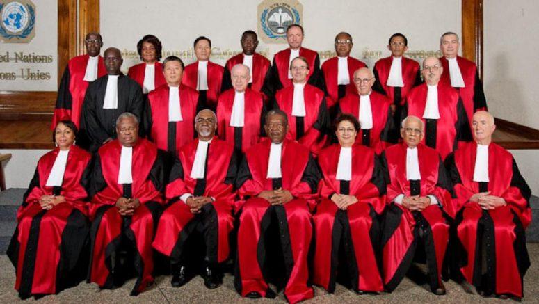 Juges du Tribunal pénal international pour le Rwanda. © 2009 Jeremy Stephenson