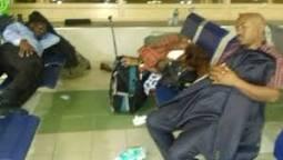 Le Père Thomas Nahimana et ses camarades du parti Ishema, avaient passé près de trois jours à l'aéroport Jomo Kenyatta, suite au refus d'entrée au Rwanda par les autorités rwandaises
