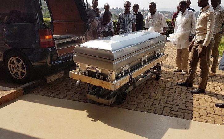 Umugogo w'umwami Kigeli V Ndahindurwa wagejejwe mu Rwanda, tariki ya 09/01/2017. Ifoto (c) Umuseke