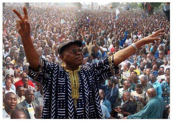 Étienne Tshisekedi , l'opposant historique en République démocratique du Congo