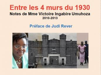 Igitabo cyanditswe na Victoire Ingabire Umuhoza ari muri gereza.