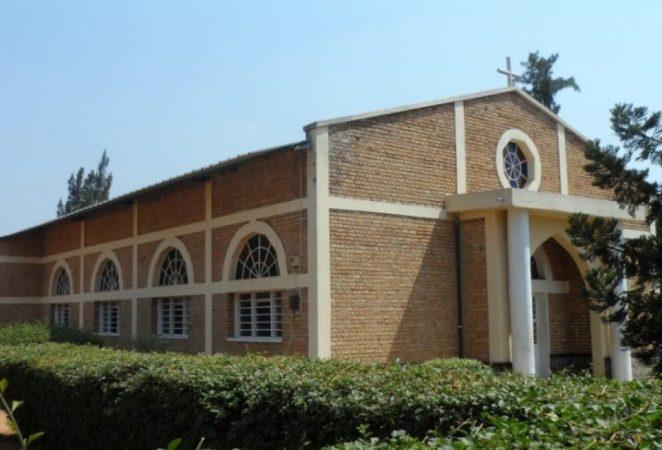 Chapelle ya Seminari Ntoya y'i Ndera yitiriwe Mutagatifu Visenti
