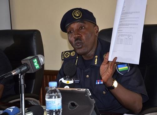 dege, umuvugizi wa Polisi y'u Rwanda. Ifoto ktpress